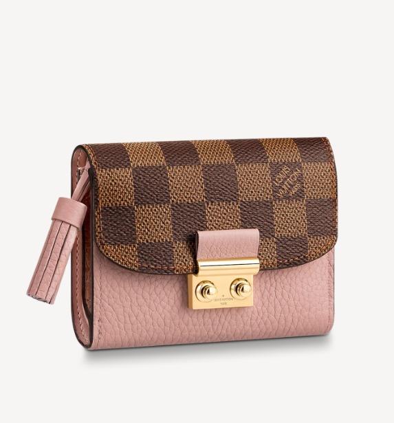 กระเป๋าสตางค์ทรงสั้นรุ่น CROISETTE